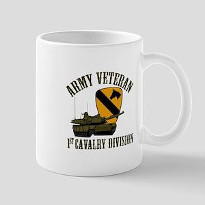 1ST Cavalry Division Veteran Mugs