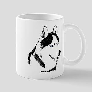 Siberian Husky Sled Dog Mug
