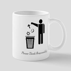 Please Think Responsibly Mug