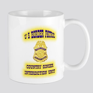 USBP Country Singer Interdict Mug