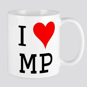 I Love MP Mug