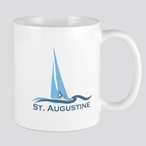 St. Augustine - Sailing Design. Mug