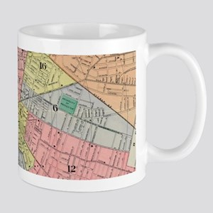 Vintage Map of Rochester NY (1901) Mugs