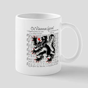 Flemish Lion Sheet Music Mug
