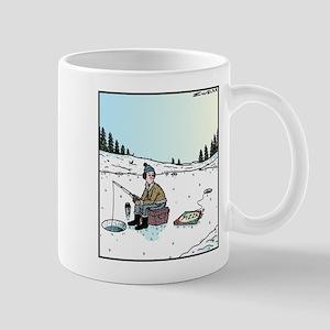 Ice-fishing Pizza bait Mug