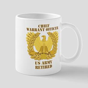 Army - Emblem - CWO Retired Mug