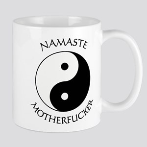 Namaste Motherfucker 3.pptx Mugs