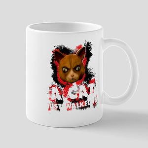 Mad Dogs walked Cat Shirt Mugs