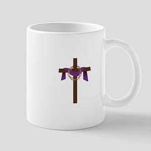 Season Of Lent Cross Mugs