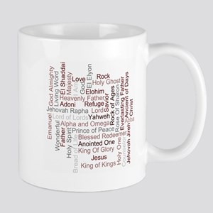 Names Of God Word Art Mugs