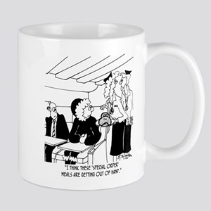 Walrus In A Special Order Meal Mug