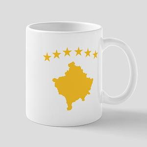 Kosovo Flag Mug