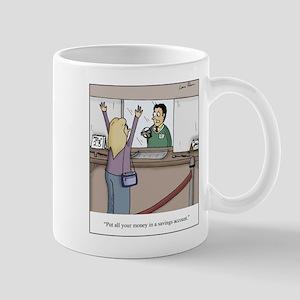 Savings Account Robbery Mug