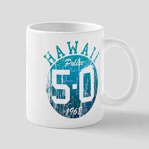 Vintage Style Hawaii 5-O Mugs