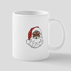 black santa claus Mugs