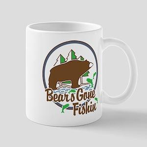 Bear's Gone Fishn' Mug