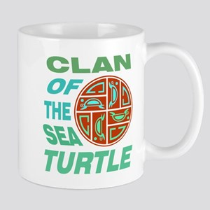 CLAN OF THE SEA TURTLE Mugs
