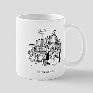 Car Dealer Cartoon 3162 Mug