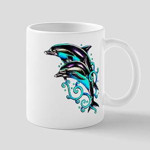 Jumping Dolphins Sea Life Mug