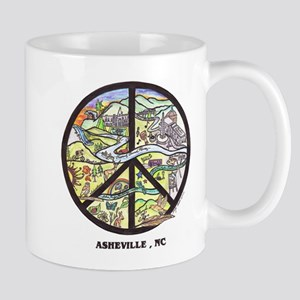 Cool Coffee Break Hip Asheville , Nc Art Mug