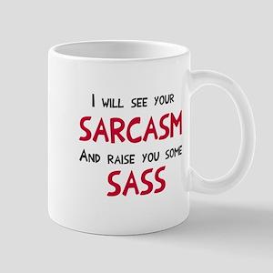 Sarcasm and Sass Mug