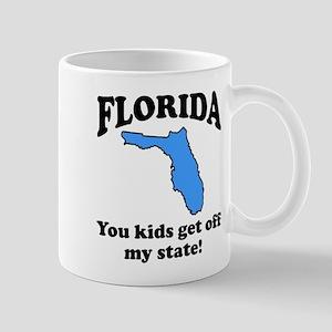 Florida Get off my state Mug