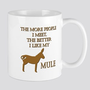 Like My Mule Mug