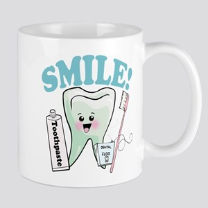 Smile Dentist Dental Hygiene Mugs