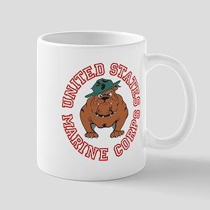 USMC Bulldog Mug