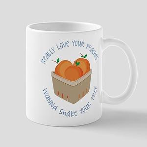 Love Your Peaches Mug