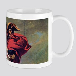 Napoleon On Horse Painting Mugs
