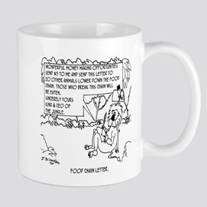 Food Chain Letter Mug