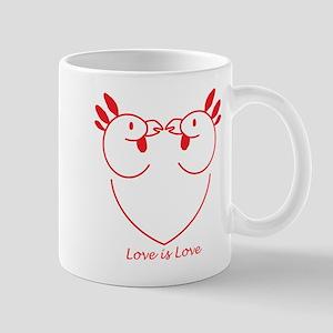 Happy Gay Chickens Mug