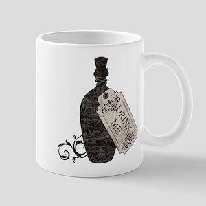 Drink Me Bottle Worn Mug