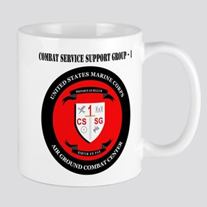 Combat Service Support Group - 1 with Text Mug