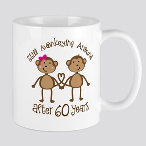 Funny 60th Anniversary Gift Mugs