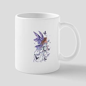 Purple Butterfly Fairy Mug