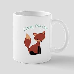 I Rule This Den Mugs