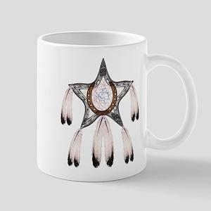 horse shoe star dreamcatcher Mugs