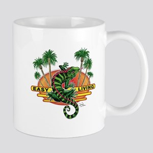 Easy Living Funky Lizard Mug