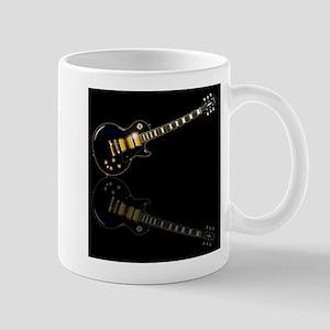 Black Beauty Electric Guitar Mugs