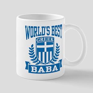World's Best Greek Baba Mug