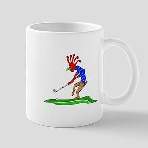 Kokopelli Golfer Mugs