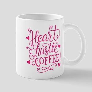 heart hustle COFFEE Mugs