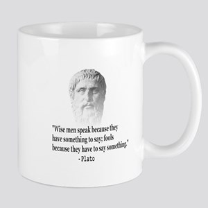 Quote By Plato Mugs