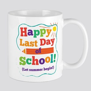Happy Last Day Of School Mugs
