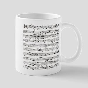 Music notes Mug