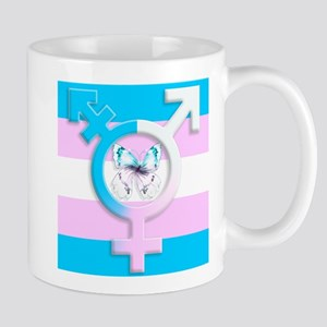 transgender butterfly symbol of equality with flag