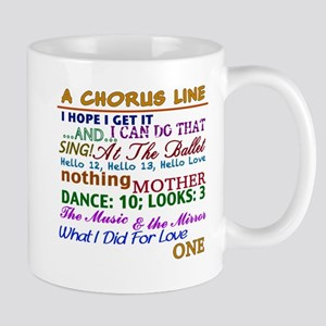 A Chorus Line The Songs Mugs