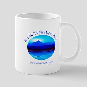 Take Me To My Happy Place! Mug Mugs